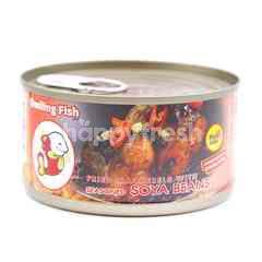 Smiling Fish Fried Mackerels With Seasoned Soya Beans