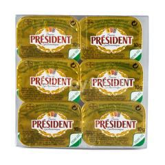 President Salted Butter Pack 6