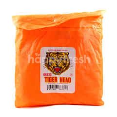 Tiger Head Kids Orange Raincoat