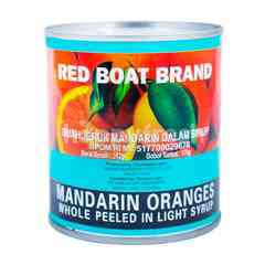 Red Boat Brand Mandarin Oranges Whole Peeled In Light Syrup