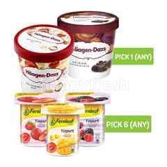Bundles Fernlaf and Haagen-Dazs Ice Cream
