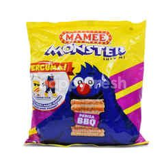 Mamee Monster Bbq Noodle Snack (8 Packs)