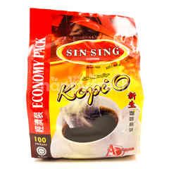 Sin Sing Kopi O Coffee Mixture Bags (100 Sachets)