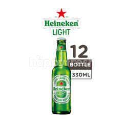 Heineken Light Bir Lager Botol 12 Packs
