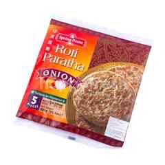 Spring Home Onion Paratha Bread