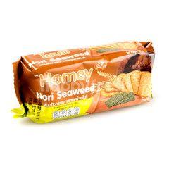 Homey Seaweed Crackers