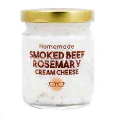 HOMEMADE Smoked Beef Rosemary Cream Cheese