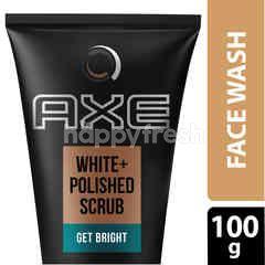 Axe White & Polish Scrub