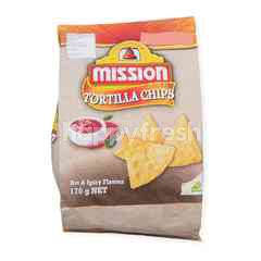Mission Hot & Spicy Flavour Tortilla Chips