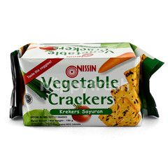 Nissin Vegetable Crackers