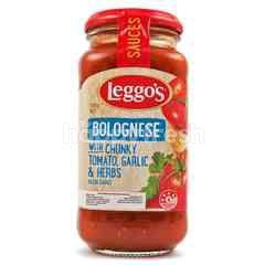 Leggo's Bolognese dengan Potongan Tomat Bawang Putih & Rempah-Rempah