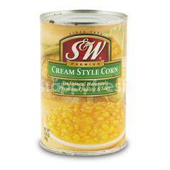 S&W Premium  Cream Style Corn