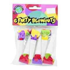 Party Planet Party Blowouts (6 Pieces)