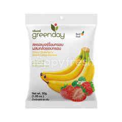 Greenday Crispy Strawberry Mixed Crispy Banana