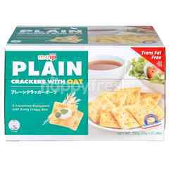 Meiji Plain Crackers With Oat (32 Packs)