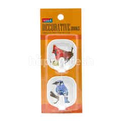 Villa Decorative Bird Hooks M