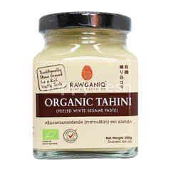 Rawganiq Organic Tahini Peeled White Sesame Paste