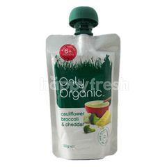 Only Organic Cauliflower Broccoli And Chedder