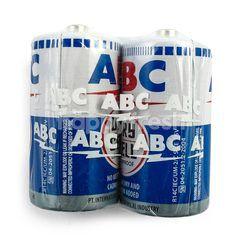 ABC Baterai R14 Biru 1,5V