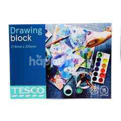 Tesco Drawing Block