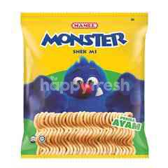 Mamee Monster Chicken Noodle Snack (8 Packs)