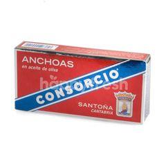 คอนซอร์ซิโอ ปลาแอนโชวีในน้ำมันมะกอก