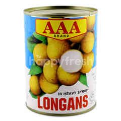 Aaa Longans In Heavy Syrup