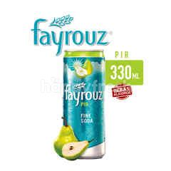 Fayrouz Pear Canned Fine Soda