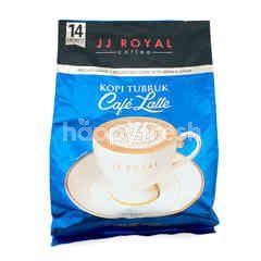 JJ Royal Tubruk Powdered Coffee Café Latte