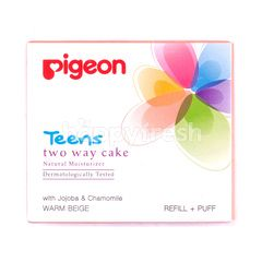 Pigeon Teens Two Way Cake Warm Beige Refill and Puff