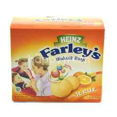 Heinz Farley's Baby Biscuit Orange Flavor for 6-24 Months