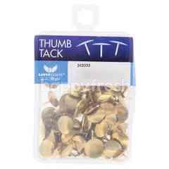 Unicorn Gold Colour Tumb Tack