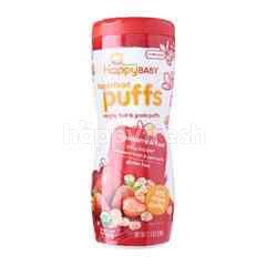 Happybaby Puffs - Strawberry & Beet (60g)