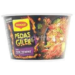 Maggi Pedas Giler Tom Yummz Mi Goreng Instant Cup Noodle