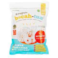 Krupuk Bocah Tua Mawar Crackers Hot and Spicy
