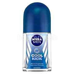 Nivea Deodorant Roll On Cool Kick for Men (2 Pieces)