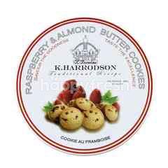 K.HARRODSON Traditional Recipe Raspberry & Almond Butter Cookies