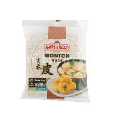 Happy Belly Wonton Skin 9cm x 9cm