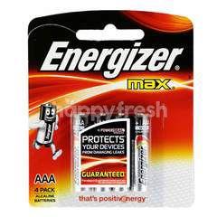Energizer Max Akaline AAA Batteries