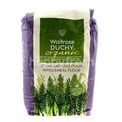 Waitrose Organic Stoneground Plain Wholemeal Flour