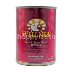 Wellness Makanan Anjing Formula Daging Bebek dan Ubi