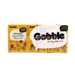 Gobble Organic Sun Muscat Raisins