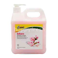 Giant Sakura Shower Cream