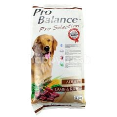 PRO BALANCE Pro Selection Adult Lamb & Rice Flavour