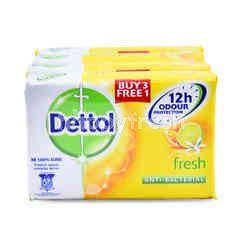 Dettol Fresh Lemon Bar Soap