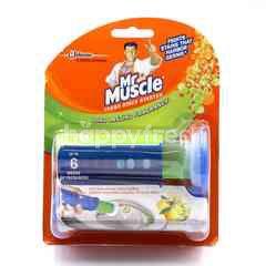 Mr Muscle Fresh Discs Starter Citrus Scent