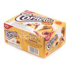 Wall's Cornetto Mini Es Krim Cokelat & Vanila