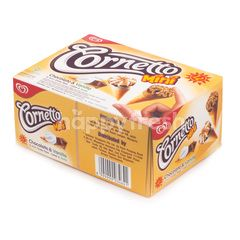 Wall's Cornetto Mini Chocolate & Vanilla Ice Cream