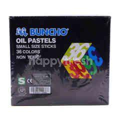 Buncho Oil Pastel (36 Pieces)