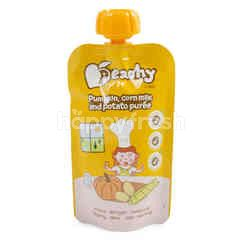 Peachy Baby Food Pumpkin Corn Milk & Potato Puree
